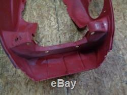 02-03 Ski Doo Zx Chassis Snowmobile Body Red Plastic Belly Pan #3