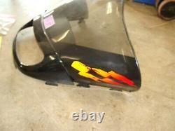 02 SKI-DOO MXZ 700 zx chassis windshield headlight bezel trim mount wind shield