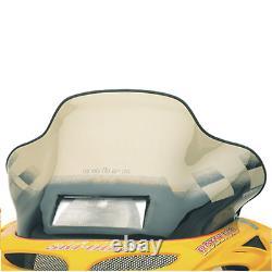 13130 Cobra Windshield Ski Doo S Chassis Tint WithBlack Checks