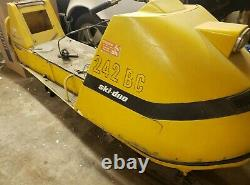 1969 Ski-Doo Olympic 12 3 Modified Snowmobile Project Solid Chassis