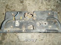 1970 Ski Doo Alpine 399 Steering Console Column Support Frame Brace Bar