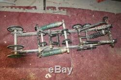 1995 Skidoo Summit 583 136rear Back Frame Skid Suspension Slid Rails #20839