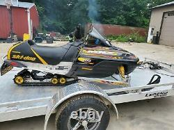 2002 SKI-DOO MXZ 800 zx chassis TRA primary cvt drive clutch oem 3300 miles