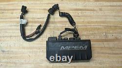 2002 Ski Doo MXZ 600 ZX Chassis MPEM DESS ECU module with matching key