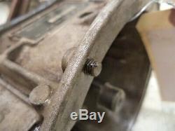2002 Ski Doo MXZ 800 #2 ZX Chassis Engine Crankcase Crankshaft Bottom Lower End