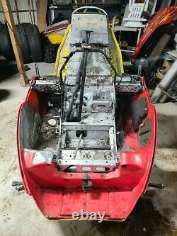 2003 Skidoo MXZ ZX CHASSIS Tunnel Bulkhead with Bellypan+Protector 500 600 700 800