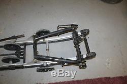 2007 07 Skidoo Rev 800 Xrs Rear Back Frame Skid Suspension 159 #7456