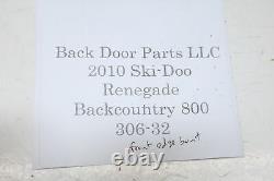 2010 Ski-doo Renegade Backcountry 800 Ptek Xp S Module Suspension Frame Brace