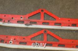 2014 Polaris RMK Pro 800 Left Right Sliding Skid Frame Suspension Rails Rail