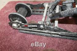 2017 Skidoo Mxz 600 Rs R Motion 128 Rear Back Frame Skid Suspension #22781