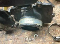 97-00 Skidoo Grand Touring, Formula 3, Mach Z CK3 Chassis Intake Carb Boots