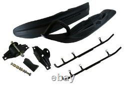 Camoplast All-Terrain Skis Mount Kit & 4 Inch Carbides Ski-Doo with REV Chassis