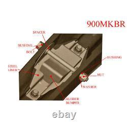 EXO-S All-Terrain Skis, Mount Kit & 6 Carbides for Ski-Doo Models withREV Chassis