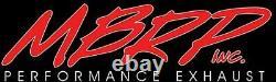 MBRP Race Muffler Exhaust Skidoo F chassis 583 SS/STX End dump 95-96 1100114