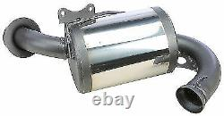 MBRP Trail Muffler Exhaust for Skidoo ZX Chassis 600 1999-2001