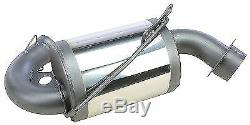 MBRP Trail Muffler Exhaust for Skidoo ZX Chassis 800 2000-2001