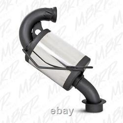 Mbrp Trail Silencer 1725207 2002-03 Skidoo Mxz/ Summit/ Legend/700 (zx Chassis)