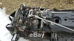 Nice 05 Skidoo Mach Z Rev 1000 Sdi Chassis Nun Bulkhead Tunnel Snowmobile Sled