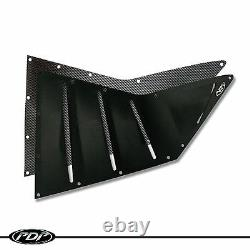 SKI-DOO RS / XRS RACE Chassis 2013+ PDP Vent Kit XM Black Middle Vent Kit