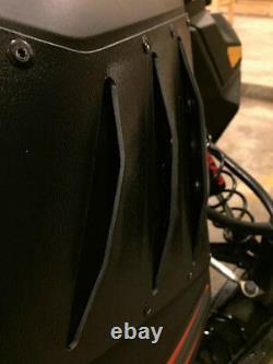 SKI-DOO RS / XRS RACE Chassis 2013+ PDP Vent Kit XM White Middle Vent Kit