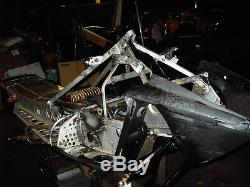 Ski Doo 2004 Renegade Tunnel Bulkhead Cooler Chassis Foot A Arms Shocks 151 Ext