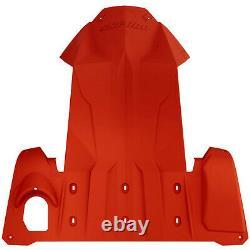 Ski-Doo New OEM Full Body Skid Plate Chassis Bulkhead Protector REV-XM, XS Red