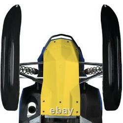Ski-Doo New OEM Full Body Skid Plate YELLOW Tunnel/Chassis Protector REV-XR