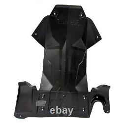 Ski-Doo New OEM REV-XS, XM Full Body Skid Plate BLACK Tunnel/Chassis Protector