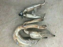 Ski Doo REV Chassis Crank Shop Twin Pipes and Stinger with Header Flanges