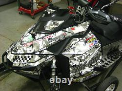 Ski-Doo XP Chassis Snow Camo Decal Kit fits 2008-2017 Carburated and etec Models