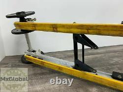 Ski-doo 151 Left Right Sliding Skid Frame Suspension Rails Rail Set 503190383