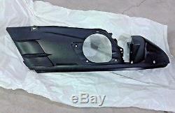 Ski-doo Brand New Black Bottom Pan Lh, Ck3 Chassis Oem# 572087100