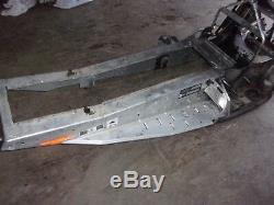 Ski doo rev mxz 2007 600 chassis bulkhead tunnel