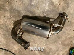 Skidoo Mxz 600 Snostuff exhaust can zx chassis