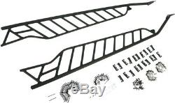 Skinz Air-Frame Running Boards Flat Black Ski-Doo Summit XM Models 13-18