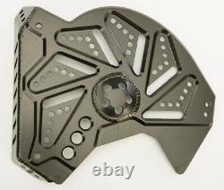 Skinz Billet Snowmobile Brake Rotor Cover Black 2013-2016 Ski-Doo XM Chassis