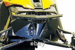 Skinz Rasmussen Custom Aluminum Front Black Bumper 2013-2019 Ski-Doo XM Chassis