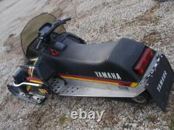Yamaha SRV 540 Snowmobile Rolling Chassis, no motor, Nice Sled