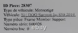 19-2020 Ski-doo Summit 850 Sp E-tec 165in Gauche Membre Droit Frame Support