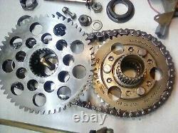 1997 Ski-doo Formule III 600 Reverse Chaincase Drop Case Cover Chain 23/44 Gears