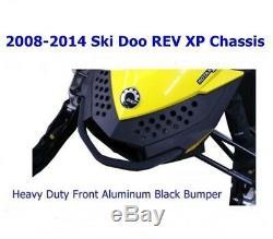 2008-2014 Ski Doo Rev Xp Châssis Noir Avant Bumper- Remplace Oem 502-0068-33