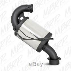 Mbrp Trail Silencer 1085207 2000-2001 Skidoo Mxz / Sommet 800 (zx Châssis)
