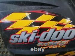 Ski Doo Mxz 600 Renegade Rev Chassis Left Side Body Panel Summit Adrenaline 2004 Ski Doo Mxz 600 Renegade Rev Chassis Left Side Body Panel Summit Adrenaline
