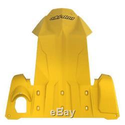 Ski-doo New Oemfull Body Plate Skid Jaune Tunnel / Châssis Rev-protector Xs, XM