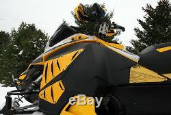 Ski-doo Rs / Xrs Race Châssis 2013+ Pdp Premium Vent Kit Complet XM Noir Vent Kit