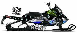 Ski-doo Summit Freeride 600 800 Traîneau À Wrap Graphique XM Châssis Le Nord