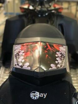 Ski-doo Xp Châssis Grimm Rea Kit Decal Convient 2008-2017 Carburateurs Et Modèles Etec
