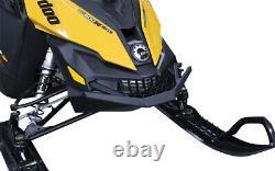 Skinz Flat Black Front Bumper 2013-2017 Châssis Ski-doo Xs
