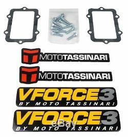 V-force 3 Reeds Ski Doo Rev Chassis Carburetor 2003-2007 V3124-873b-2 Vforce